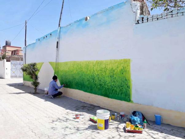 Paint the Village