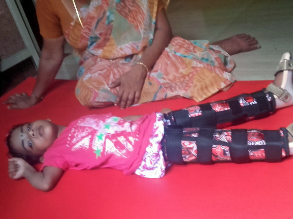 Help Rithuparna fight cerebral palsy