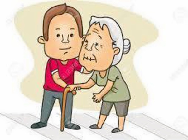 Helping lonely elderly people