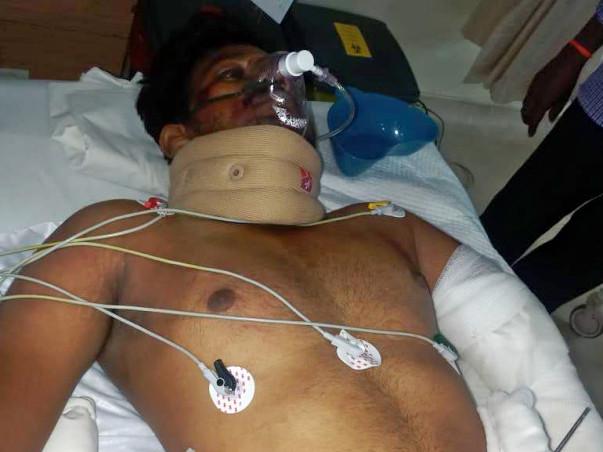 I,am Anish - My brother R. Lenin Raj - Get well Soon...