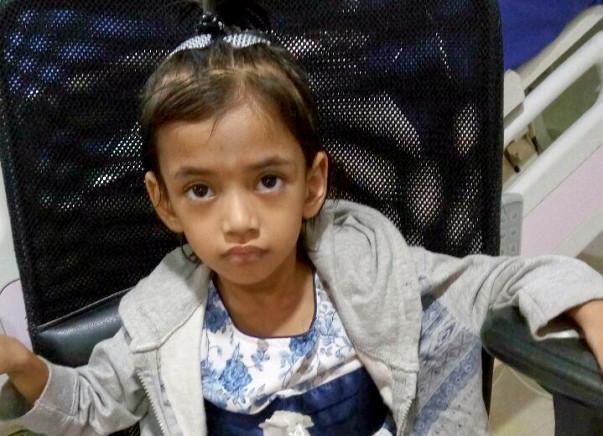 Help Aaroyhi Fight Genetic Disorder of Intestine