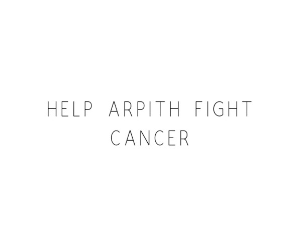 Help Arpith Fight Cancer