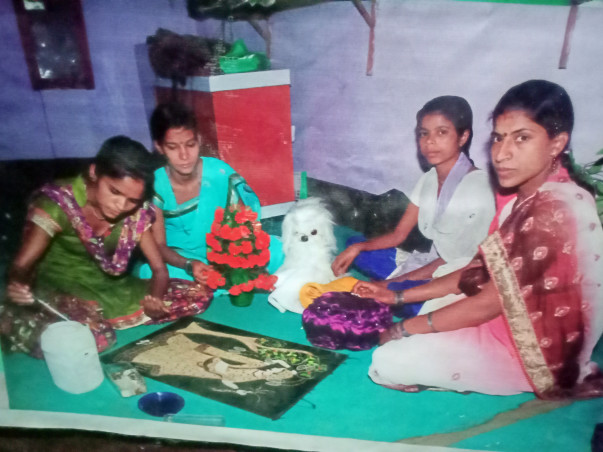 Help the poor women and girl to become self employed