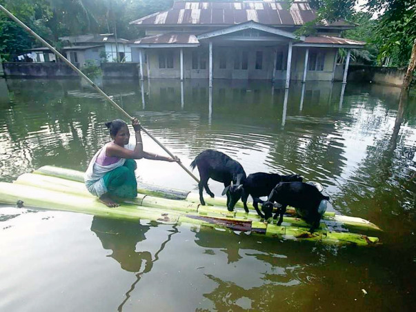 Save Assam From The Monsoon Mayhem- Aahwahan Foundation