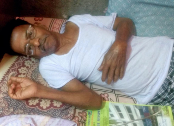 Help Dattaram, who is bedridden for 11 months, get back on his feet
