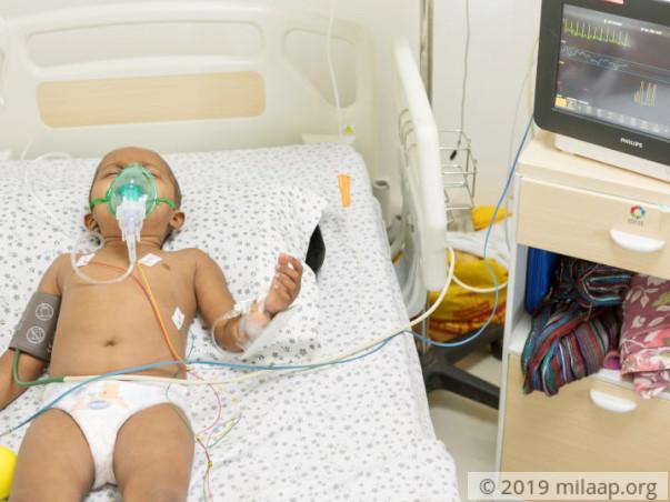 Save Baby Prerana from Cancer