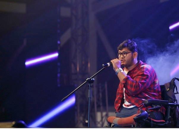 Support Inspirational Rapper Shek Monu Buy An Electronic Wheel Chair