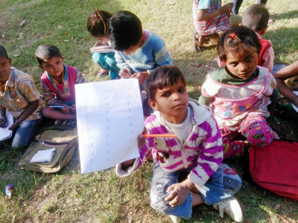 Help To Build Roof and Toilets for Open School For Slum Kids