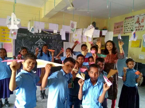 Build Communicative English Skills In Govt School Kids In Bangalore