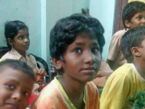 I am running a marathon to build a new learning center in Ezhil Nagar slum area of Chennai