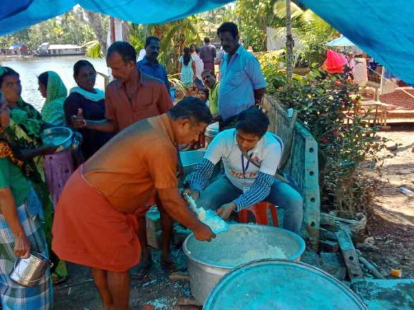Drinking Water for Kerala Flood Affected People