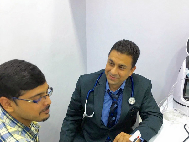 To help Needy Patients by providing them expert medical advise online