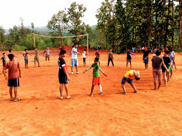 Help Nikita Set Up A Football Ground For the Kids of Mawiong Community