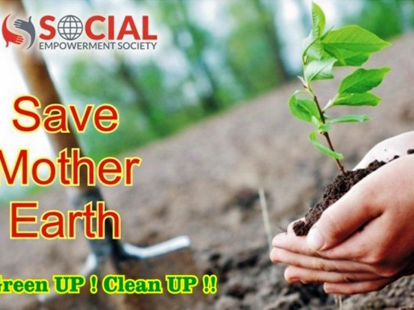 10,000 Tree Plantation in Gorakhpur City of Uttar Pradesh