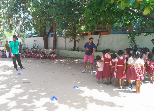 Help Kids Of This Low Income School Undergo Football Training