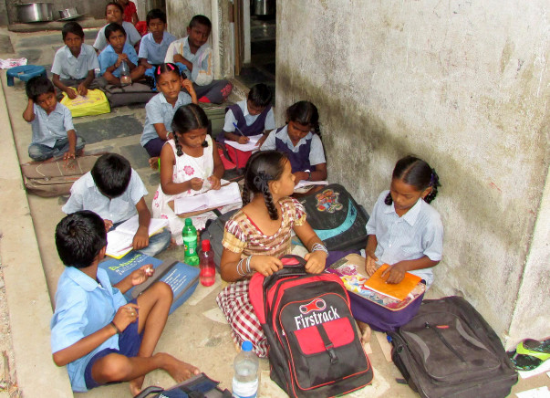 Improve facilities for special child labor school in a Slum of Guntur