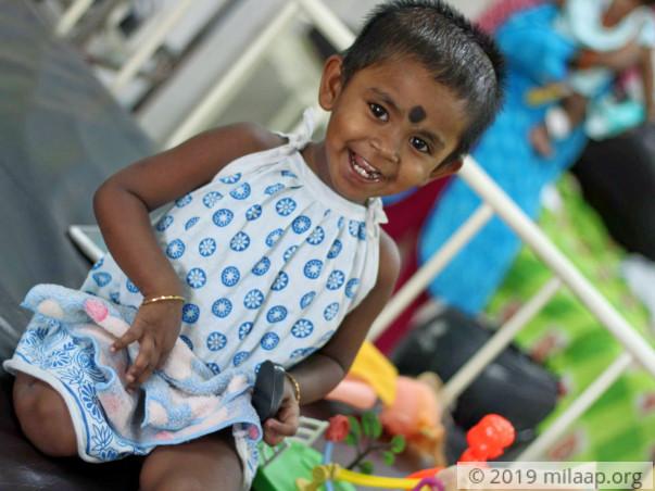 Help Isha Fight Sided Wilms Tumor