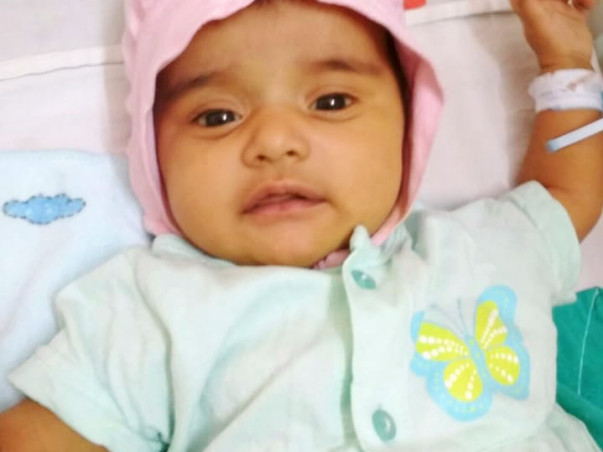 Help 1-month-old Baby Sharda Undergo A Surgery