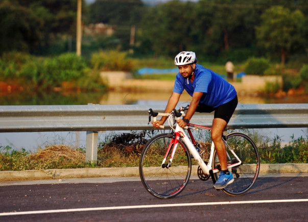 I am cycling to ride for raising funds for differently Abled Athletes