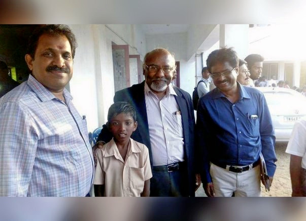 Help Young Jayakumar Make His Way To Russia