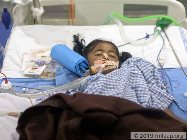 Help Bhavana Recover From Dengue And Multi-Organ Failure