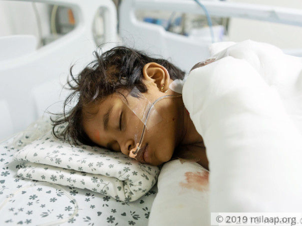 Help Shreya to undergo her treatment