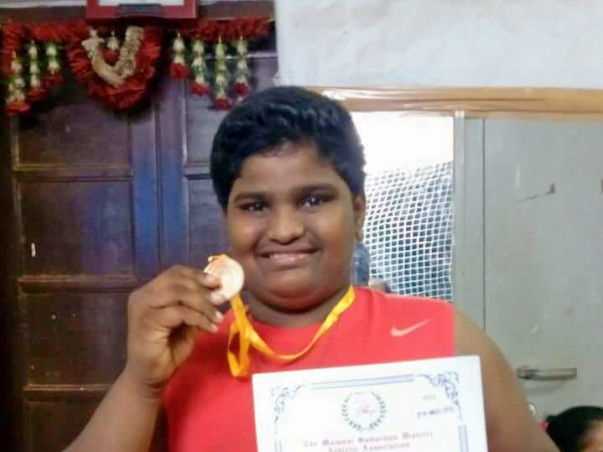 Help Master Vishal To Display His Shot Put Talent