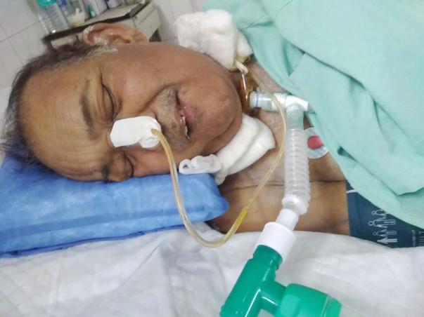 Help Murli Manohar Fight Post Circulation Stroke