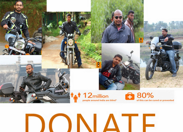 'Riders for a cause' in aid of Sightsavers