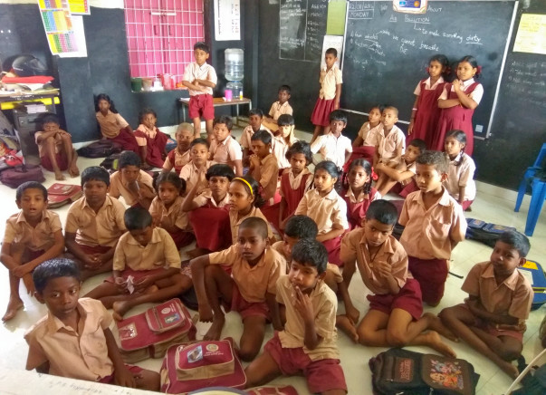 Support and Share the Vision of 5B - CPS Koyambedu