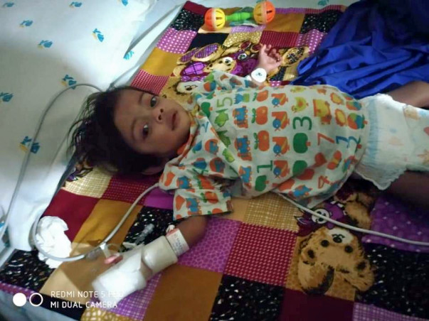 Open Heart Surgery for 11 Months Baby Priyanka