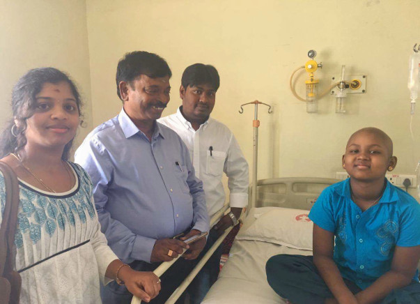 Help Madhumitha Fight Acute myelogenous Leukemia