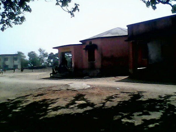 Water facility at Village school in Radhanagar Panchayat, Bokaro