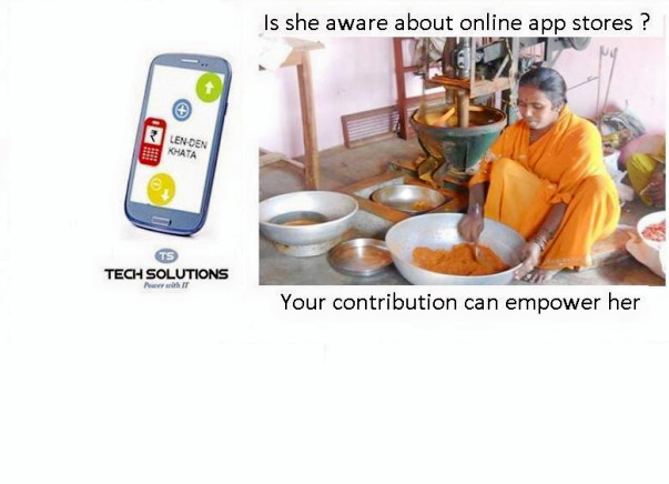 Your contribution shall empower grassroots enterprises.