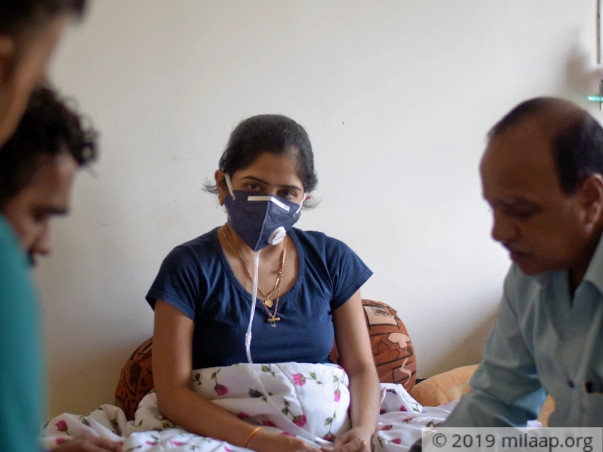 Help Ashwini Pandharinath Shelke Recover From Lung Disease