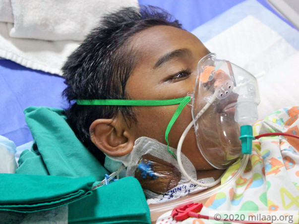 Atharva More needs your help to undergo his treatment