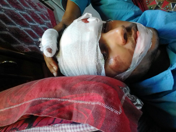Help Sumit To recover from several injuries.Its very urgent