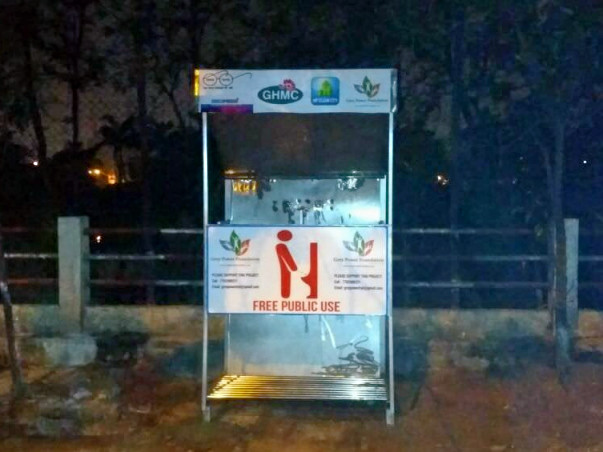 Help Greypower Foundation Stop Menace Of Open Urination In Hyderabad