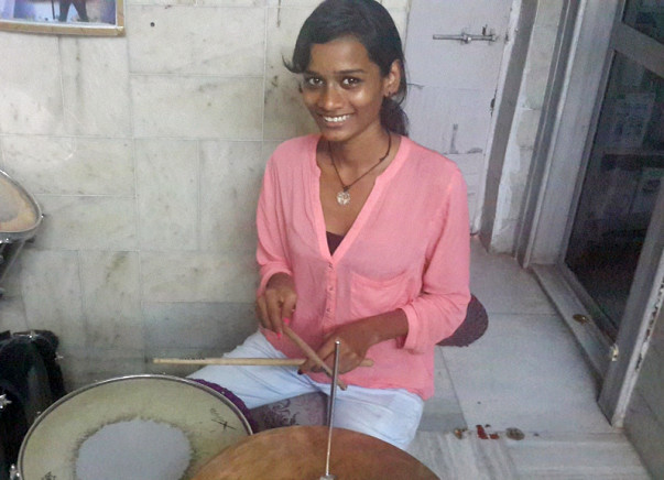 I am fundraising to send Sheetal From Red Light Area To US Drum School