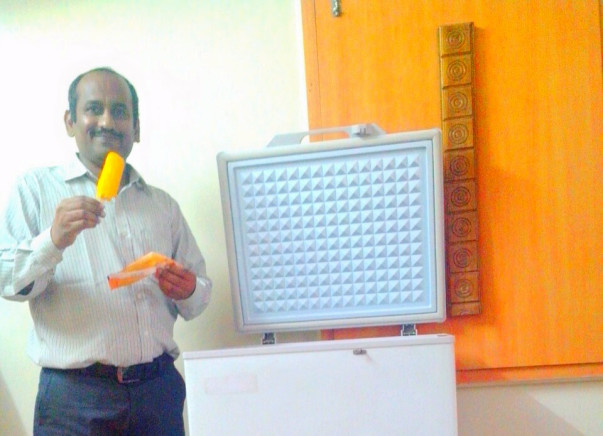 I am fundraising to smart Kart - The solar powered Ice Cream Cart Refrigerator