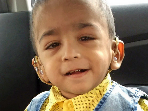 Azhar's 1-year-old suffering from hearing loss needs our help