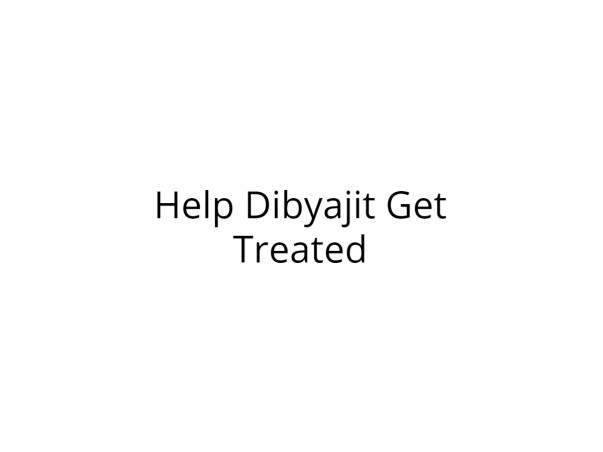 Help Dibyajit Undergo Elbow Replacement