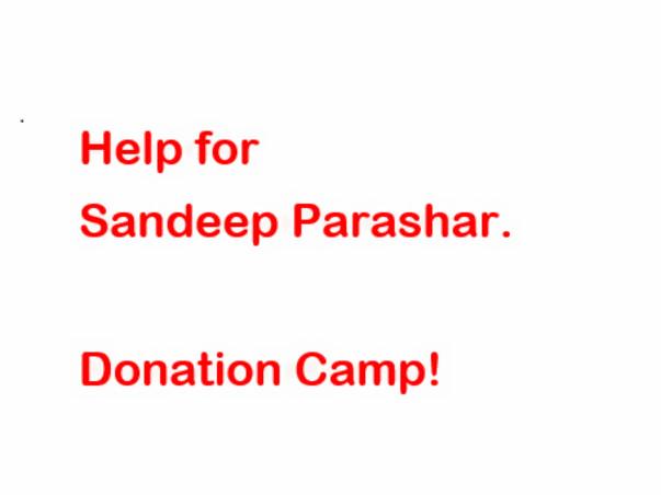 Help for Sandeep Parashar