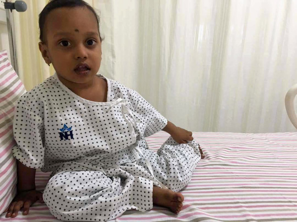 Help Pratyush undergo a bone marrow transplant