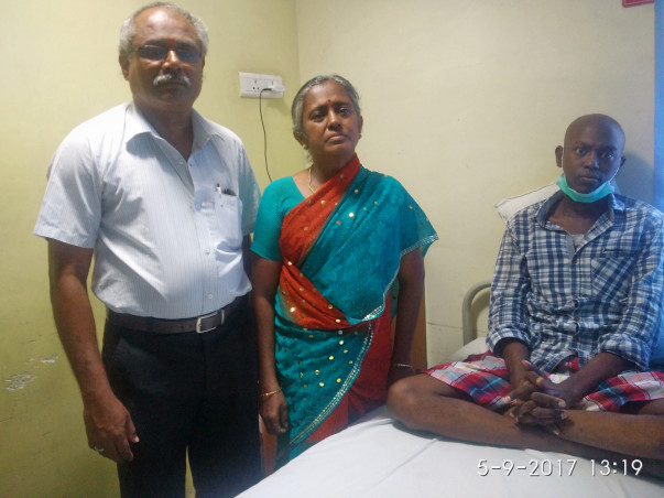 Help Murugappan Undergo Bone Marrow Transplantation