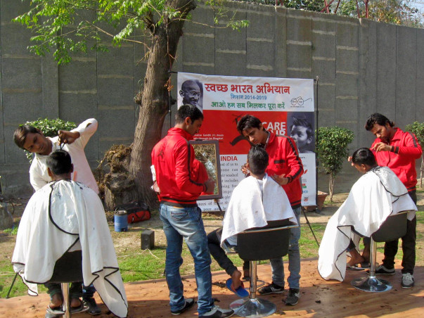 Free Haircuts For Poor And Disabled People