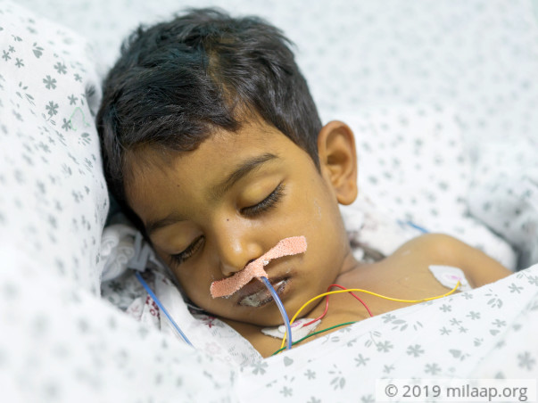 This 3-year-old Has Only 24 Hours To Live And Needs Your Help