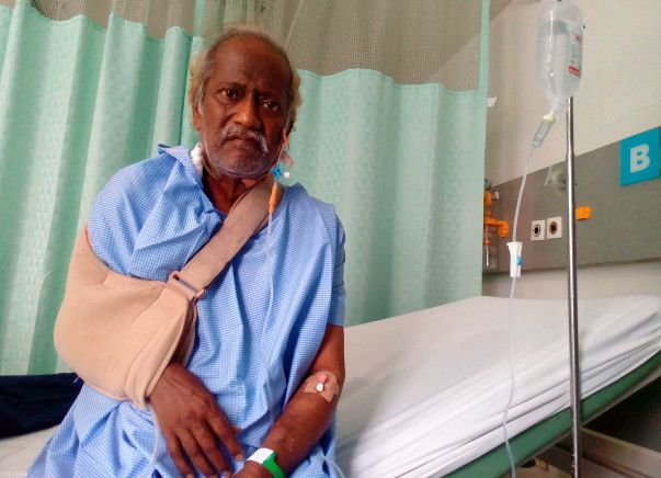 Help My Father To Fight Cancer