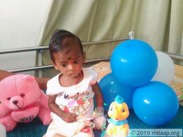 Help Srivarshan to undergo Bone Marrow Transplant surgery