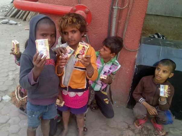 Help Underprivileged Children to Fight with Hunger